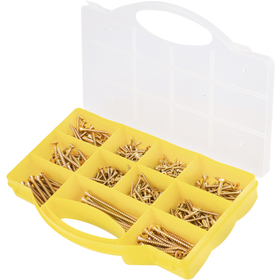 Chipboard screw set 500 pcs