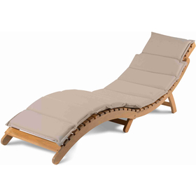 Cushion for deckchair ADRIA cream